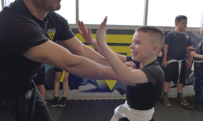 krav maga kids training