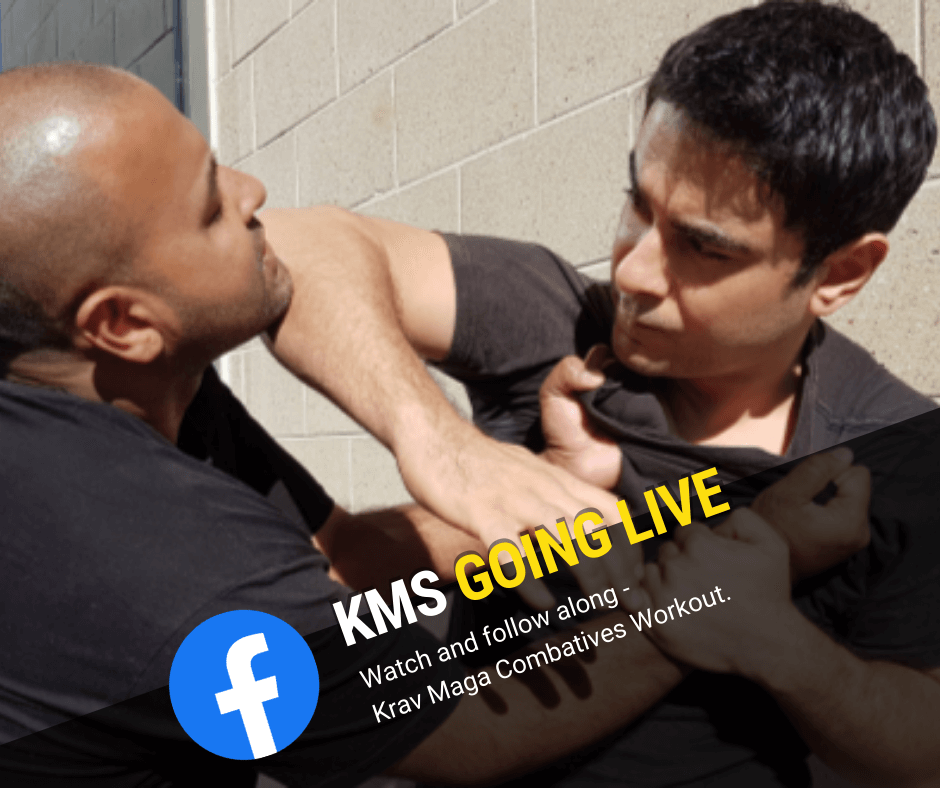 Promoting Krav Maga Systems Facebook Live Lessons