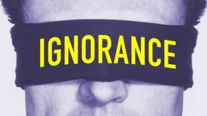 Ignorance: A Lead Cause Of Violence