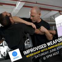 Improvised Weapons Workshop With Amnon Darsa