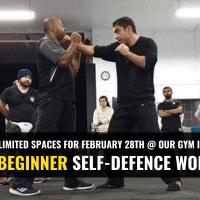 Beginner Self-Defence Workshop